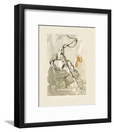 Divine Comedie, Enfer 24: Les Voleurs-Salvador Dalí-Framed Collectable Print