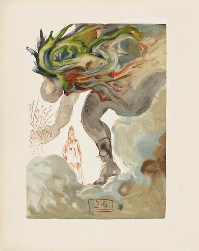 Divine Comedie, Enfer 31: Les Geants-Salvador Dal?-Collectable Print
