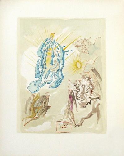 Divine Comedie, Paradis 26: Dante recouvre la vue-Salvador Dal?-Collectable Print