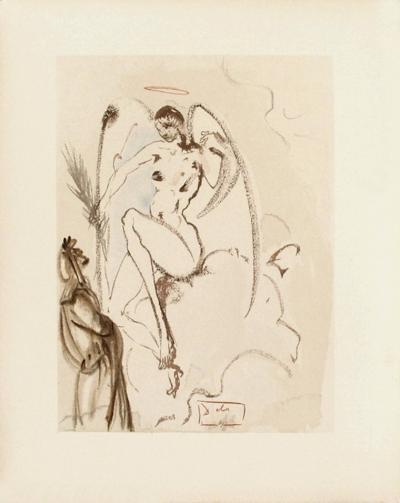 Divine Comedie, Paradis 31: L'Archange Gabriel-Salvador Dal?-Collectable Print