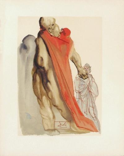 Divine Comedie, Purgatoire 05: Reproches de virgile-Salvador Dal?-Collectable Print
