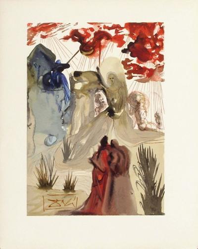 Divine Comedie, Purgatoire 28: La divine foret-Salvador Dal?-Collectable Print