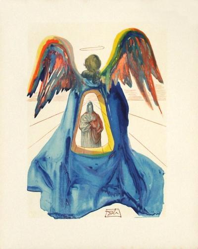 Divine Comedie, Purgatoire 33: Dante purifie-Salvador Dal?-Premium Edition