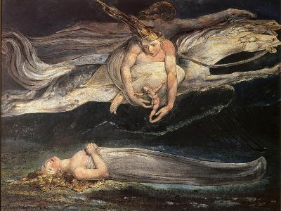 Divine Comedy: Pity-William Blake-Giclee Print