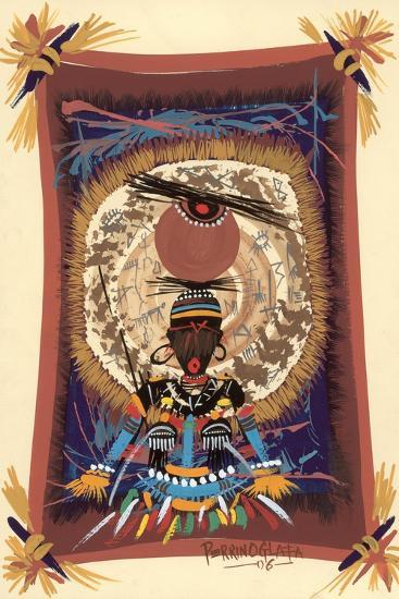 Diviner Tray, 2006-Oglafa Ebitari Perrin-Giclee Print