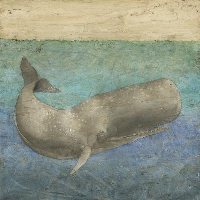 Diving Whale II-Megan Meagher-Art Print