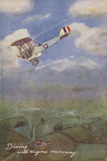 Diving with Engine Running--Giclee Print