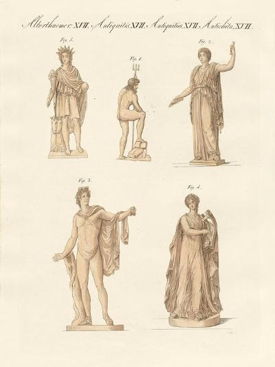 Divinities of the Greeks and Romans--Giclee Print