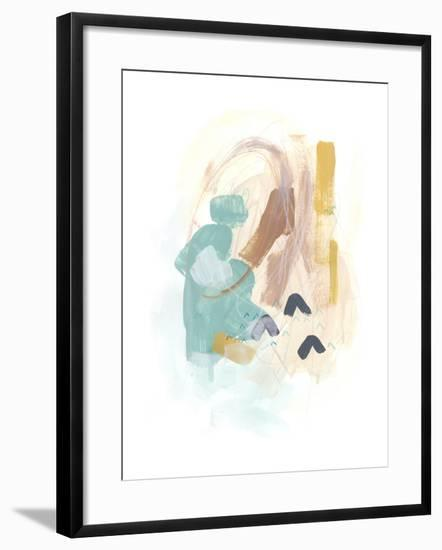 Division & Direction IV-June Vess-Framed Art Print