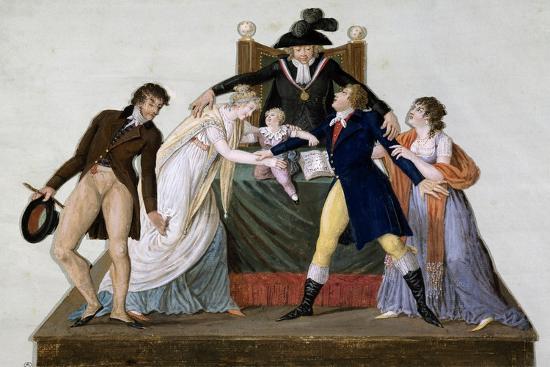 Divorce, Reconciliation--Giclee Print