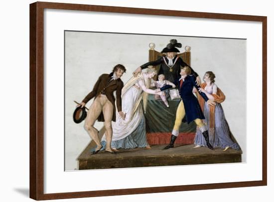 Divorce, Reconciliation--Framed Giclee Print