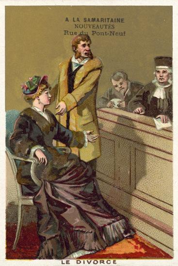 Divorce--Giclee Print