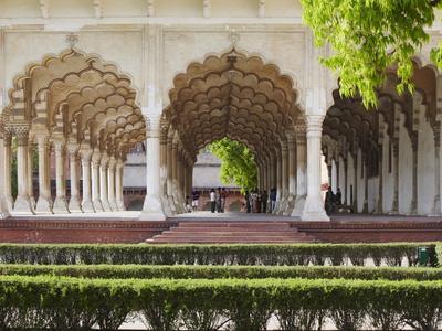 Diwan-I-Am (Hall of Public Audiences) in Agra Fort, Agra, Uttar Pradesh, India-Ian Trower-Photographic Print