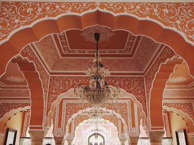 Diwan-I-Khas (Hall of Private Audience), City Palace, Jaipur, Rajasthan, India-Ian Trower-Photographic Print