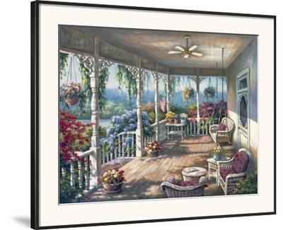 'Dixie's Veranda' Framed Art Print - Sung Kim | Art.com