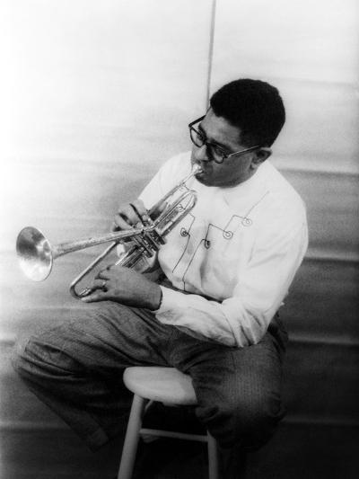 Dizzy Gillespie (1917-1993)-Carl Van Vechten-Giclee Print