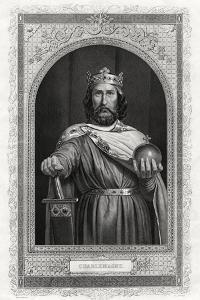 Charlemagne, King of the Franks, 1875 by DJ Pound