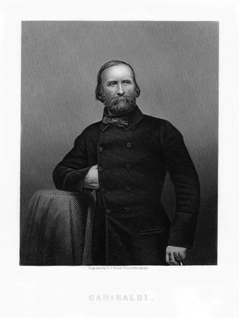 Giuseppe Garibaldi, Italian Patriot, 19th Century