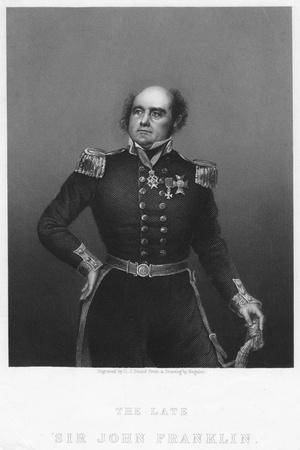Sir John Franklin, C1860S