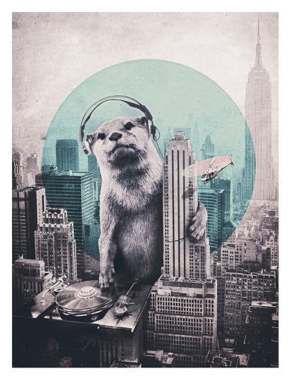 DJ-Ali Gulec-Art Print