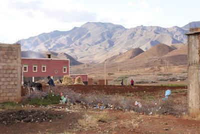Djebel Siroua, Near Taliouine, Morocco--Photographic Print