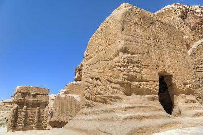 Djinn Blocks, Dating from Between 50 BC and 50 Ad, Petra, Jordan, Middle East-Richard Maschmeyer-Photographic Print