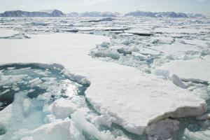 Sea Ice Surrounding Islands by DLILLC