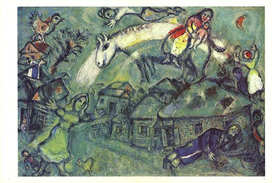 DLM No. 182 Pages 12,13-Marc Chagall-Art Print
