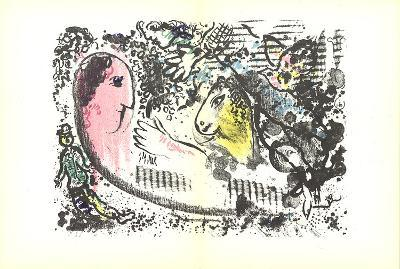 DLM No. 182 pages 4,5-Marc Chagall-Art Print