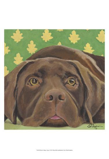 Dlynn's Dogs - Casey-Dlynn Roll-Art Print