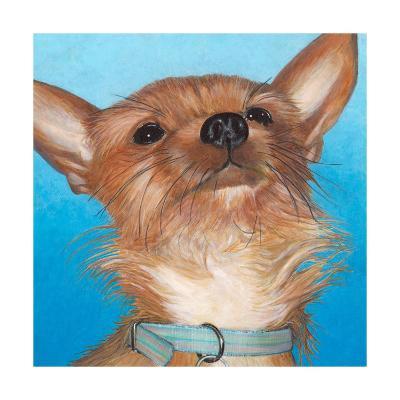 Dlynn's Dogs - Gratitude-Dlynn Roll-Art Print