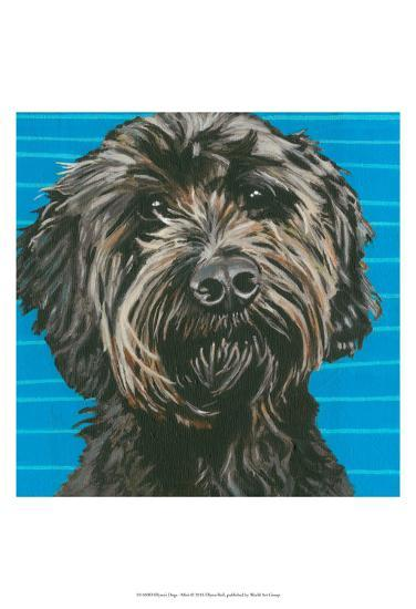Dlynn's Dogs - Mini-Dlynn Roll-Art Print