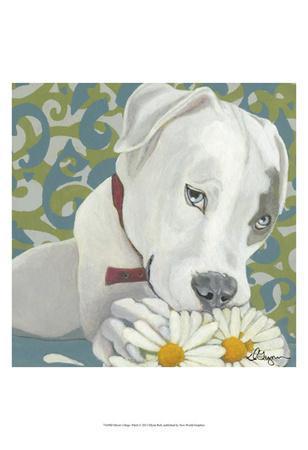 Dlynn's Dogs - Patch-Dlynn Roll-Art Print