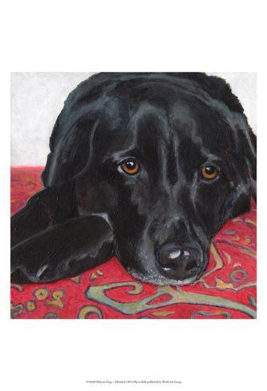 Dlynn's Dogs - Tallulah-Dlynn Roll-Art Print