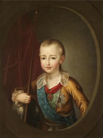 Portrait of Grand Duke Alexander Pavlovich (Alexander) as Child