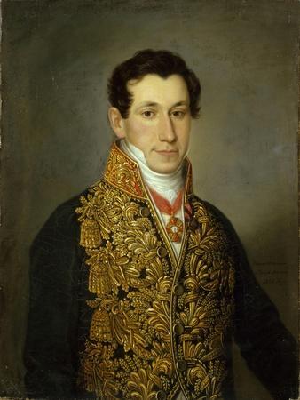 Portrait of Grigory Mitusov (1795-187), 1826