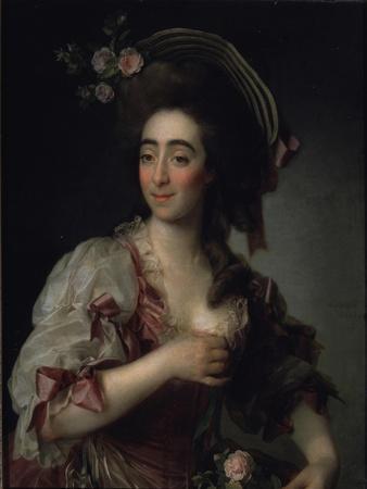 Portrait of the Opera Singer Anna Davia Bernucci, 1782