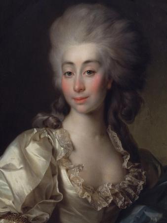 Portrait of Ursula Mniszeck, 1782