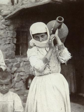 Armenian Country Girl, Yerevan, Armenia, 1880S