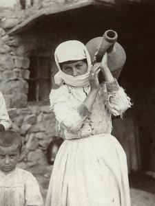 Armenian Country Girl, Yerevan, Armenia, 1880S by Dmitri Ivanovich Yermakov