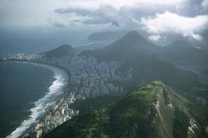 1957: Aerial View of Rio De Janeiro, Brazil by Dmitri Kessel