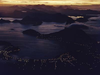 1957: Aerial View of Rio De Janeiro, Brazil