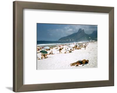 1957: Copacabana Beach, Rio De Janeiro, Brazil