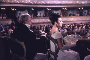 1965: Actress Lyudmila Saveleva as Natasha Rostova in a Scene from the Film 'War and Peace', Russia by Dmitri Kessel
