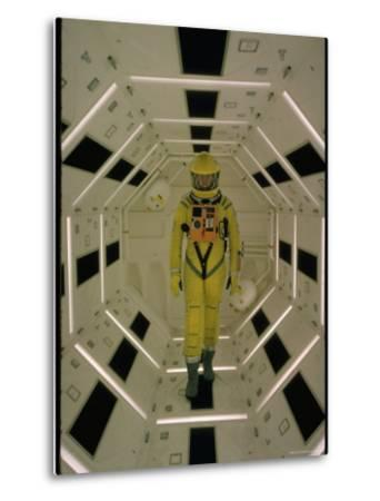 "Actor Gary Lockwood in Space Suit in Scene from Motion Picture ""2001: A Space Odyssey"""