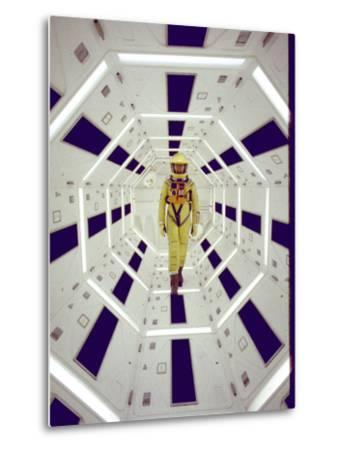 """Actor Gary Lockwood in Space Suit in Scene from Motion Picture """"2001: A Space Odyssey"""""""