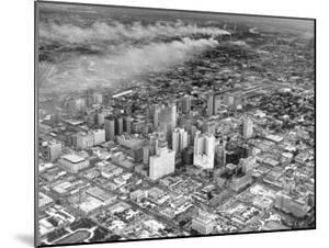 An Aerial View of the City Houston by Dmitri Kessel