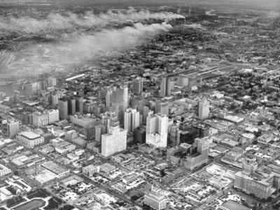 An Aerial View of the City Houston