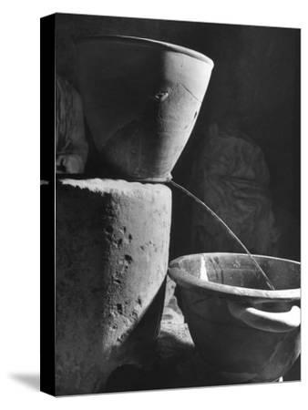 Clay Water Clock Pours Water for 6 Minutes, Allotted for Speech in Law Courts of Ancient Greece