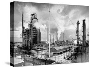 Exterior of Humble Oil Refinery by Dmitri Kessel
